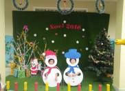 Các bé trường mẫu giáo Họa Mi chào đón Noel 2018